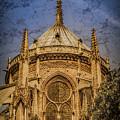 Paris, France - Notre-dame De Paris - Apse by Mark Forte