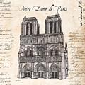 Notre Dame De Paris by Debbie DeWitt