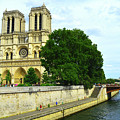 Notre Dame On The Seine by Kathleen Barngrover