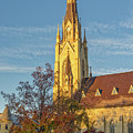 Notre Dame University Basilica Of The Sacred Heart by Jerry Fornarotto