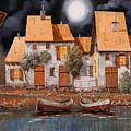Notte Di Luna Piena by Guido Borelli