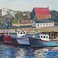 Nova Scotia Boats by Richard Nowak