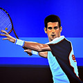 Novak Djokovic by Paul Meijering