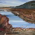Novato Bay Inlet by Edward Wolverton