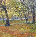 November In Hyde Park by Patricia Espir