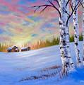 November Sunset by Chris Steele
