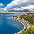 Novigrad Dalmatinski Fishermen Village Bay by Brch Photography