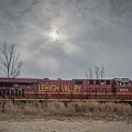 Ns 8104 Lehigh Valley At Booneville In by Jim Pearson