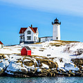 Nubble Light 2 by Kevin Fortier