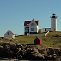 Nubble Light 4 by Robert McCulloch