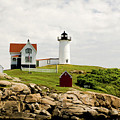 Nubble Light House  by Betty Pauwels