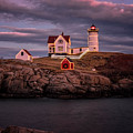 Nubble Light II by Tom Singleton