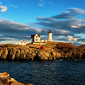 Nubble Light IIi by Tom Singleton