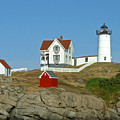 Nubble Light by Margie Wildblood