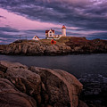 Nubble Light by Tom Singleton