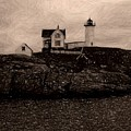 Nubble Lighthouse by Donna Cavanaugh