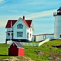Nubble Lighthouse II by David Simpson