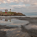 Nubble Lighthouse In The Afternoon by Jon Glaser