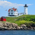 Nubble Lighthouse by Judd Nathan