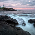 Nubble Lighthouse Of Maine by Jon Glaser