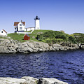Nubble Lighthouse by Phyllis Taylor