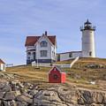 Nubble Lighthouse York Maine by Edward Fielding