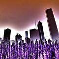 Nuclear Chicago Skyline by Sven Brogren
