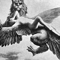 Nude And Griffin, 1890s by Granger