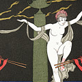 Nude Dancer  by Georges Barbier