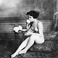 Nude Drinking Tea, 19th Ct by Granger