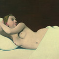 Nude by Felix Edouard Vallotton