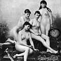 Nude Group, 1889 by Granger