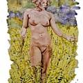 Nude In Field by Tim Murphy