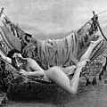 Nude In Hammock, C1885 by Granger
