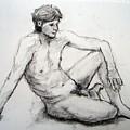 Nude Man by Alfons Niex