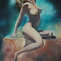 Nude by Margaret Fortunato