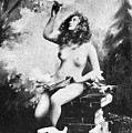 Nude With Birds, 1897 by Granger