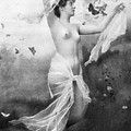 Nude With Butterflies by Granger