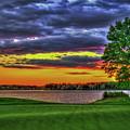 Number 4 The Landing Reynolds Plantation Golf Art by Reid Callaway