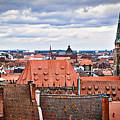 Nuremberg Altstadt by Dieter  Lesche
