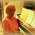 Nursing Home Piano Player by Curtis Tilleraas