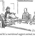 Nutritional Support Animal by John Klossner