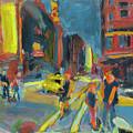 Ny Intersection by Bob Dornberg
