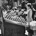 Ny Push Cart Vendors by Underwood Archives