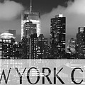 Nyc B W Poster 020218 by Rospotte Photography