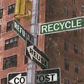 Nyc Broadway 1 by Debbie DeWitt