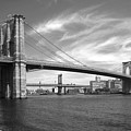 Nyc Brooklyn Bridge by Mike McGlothlen