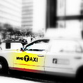 Nyc Cab by Funkpix Photo Hunter