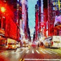Nyc Fifth Ave by Janine Riley
