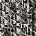 Nyc Fire Escapes by Edward Fielding
